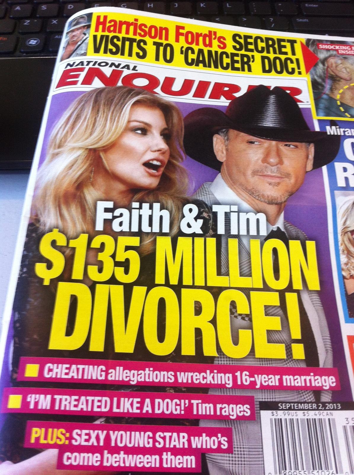 faith hill � tim mcgraw � divorce western wear cowboy